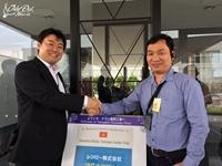 Đại diện Nhạc cụ Tiến Đạt trong chuyến thăm Yamaha Nhật Bản