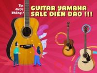 Guitar Yamaha SALE ĐIÊN ĐẢO