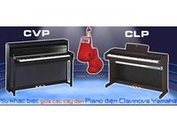 Sự khác biệt giữa đàn Piano điện Yamaha CLP và CVP ?