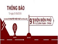Tiến Đạt thông báo chuyển địa điểm 310 Nguyễn Thiện Thuật, TPHCM
