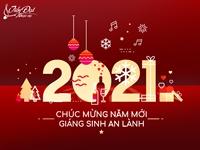 Nhạc cụ Tiến Đạt chúc mừng Noel, chào năm mới 2021