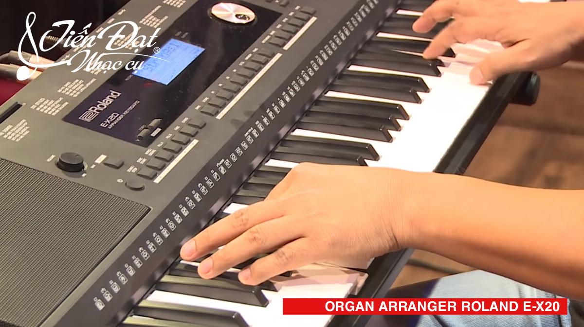 organ arranger roland e-x20