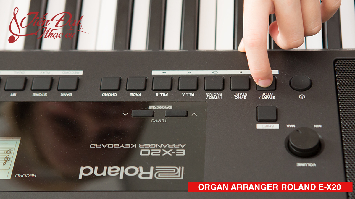 organ arranger e-x20