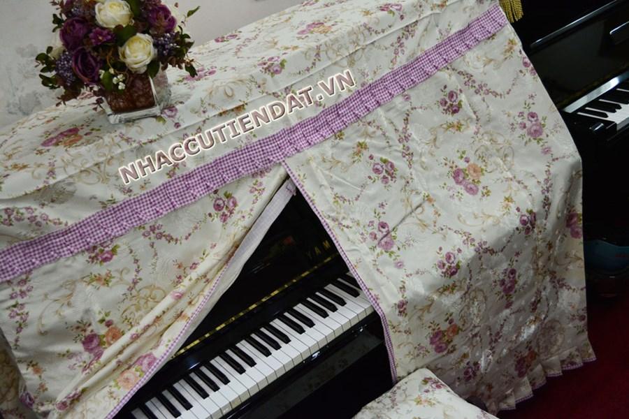 khăn phủ đàn piano UD01