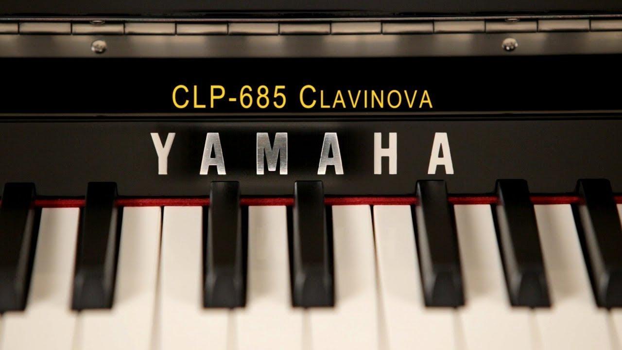 CLP 685 piano yamaha