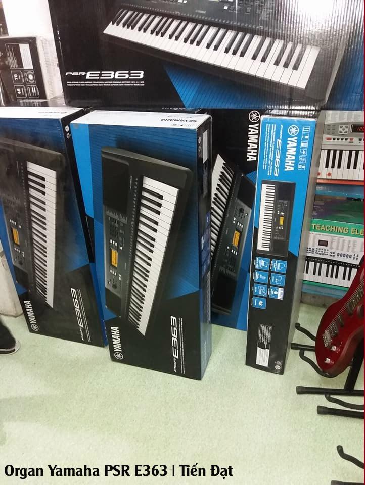 Organ Yamaha PSR E363 gia re, organ tre em