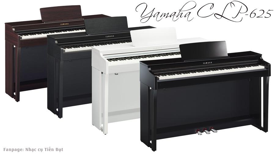 piano yamaha CLP625 danh gia nhanh