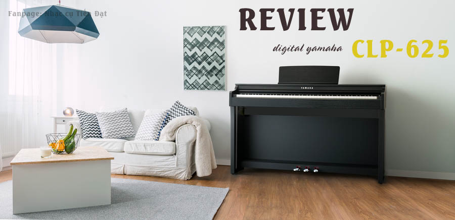 piano yamaha CLP625 review