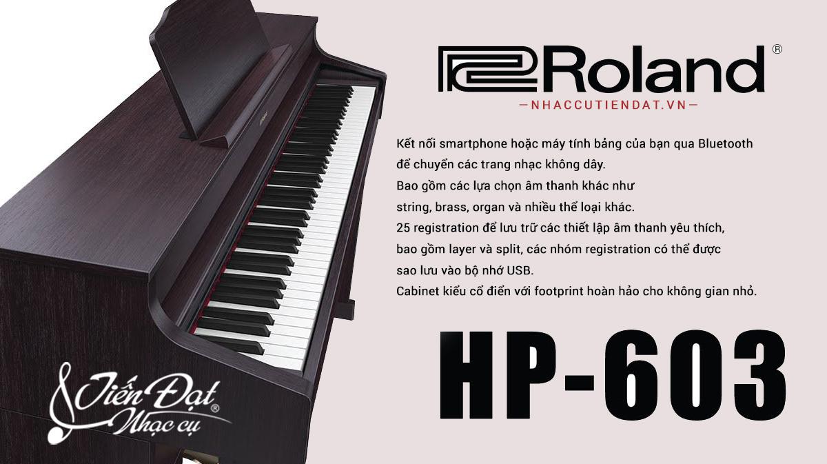 piano roland hp-603