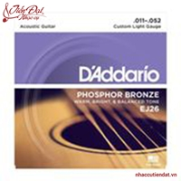Dây đàn guitar Acoustic D'Addario EJ26