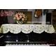 Khăn phủ đàn Piano hoa vàng nhỏ ánh bạc - KU07 0