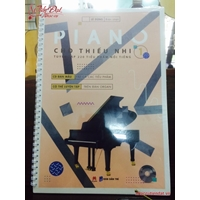 Piano Cho Thiếu Nhi - Tuyển Tập 220 Tiểu Phẩm Nổi Tiếng (Tập 1 - Kèm CD)
