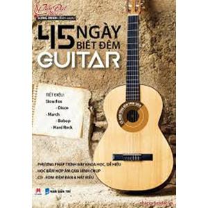 Sách 45 ngày biết đệm Guitar Tác giả Song Minh