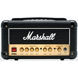 Amplifier Guitar Marshall DSL1HR 1W Dual Channel Tube