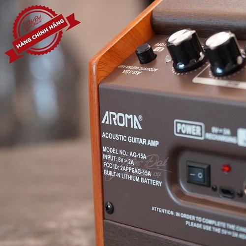 Amply Guitar AROMA AG-15A 7