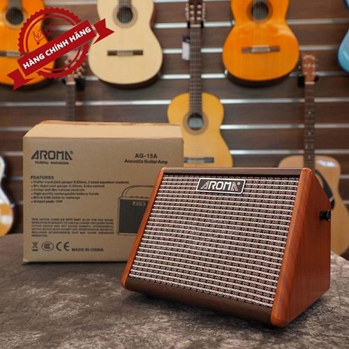 Amply Guitar AROMA AG-15A 4