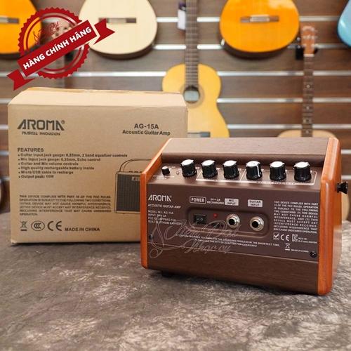 Amply Guitar AROMA AG-15A 3