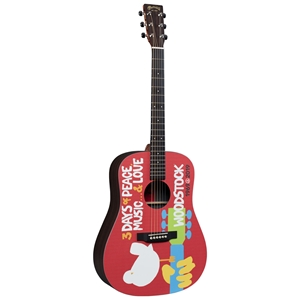 Đàn Guitar Acoustic Martin X Series DX Woodstock 50th