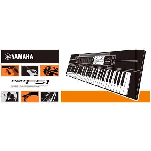 Đàn Organ Yamaha Psr F51 6