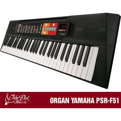Đàn Organ Yamaha Psr F51 2