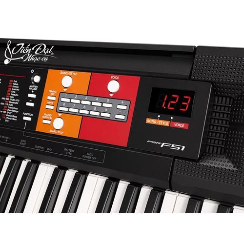 Đàn Organ Yamaha Psr F51 1