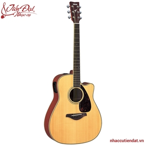 Đàn Acoustic guitar Yamaha FGX720SCA-Gỗ tự nhiên