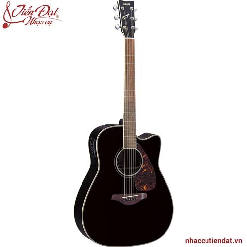 Đàn Acoustic guitar FGX730SC-Màu đen