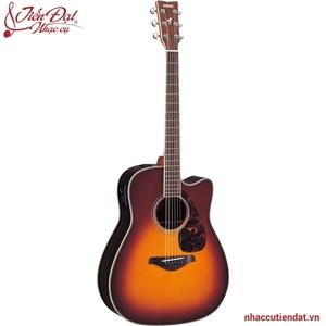 Đàn Acoustic guitar FGX730SC-Nâu ánh mặt trời