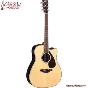 Đàn Acoustic guitar Yamaha FGX730SC-Gỗ tự nhiên
