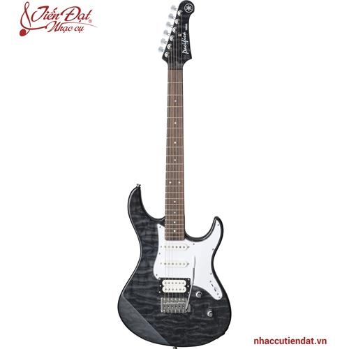 Đàn Electric guitar PACIFICA212VQM màu đen mờ