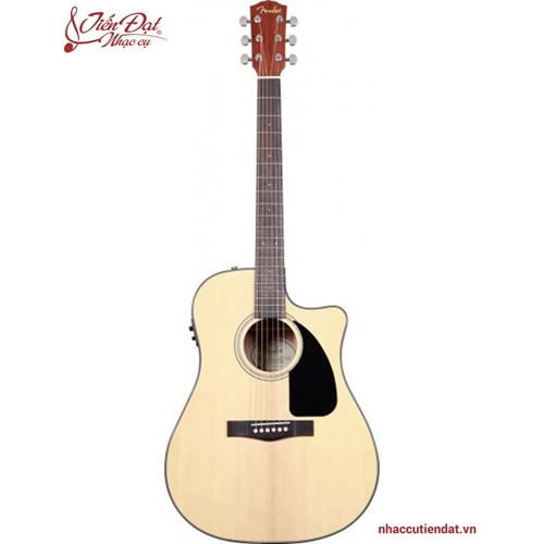 Đàn Guitar Acoustic FENDER CD-60SCE NAT