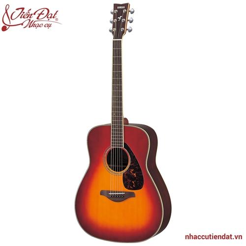 Đàn acoustic guitar yamaha FG730S-Màu nho đỏ