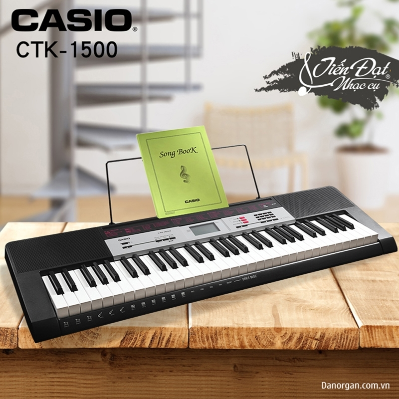 organ casio ctk-1500