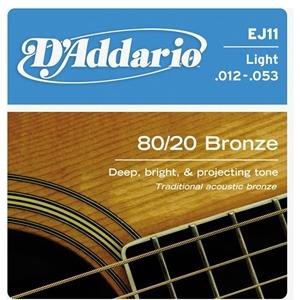 Dây Đàn GuitarAcoustic D'Addario EJ11