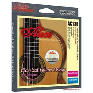 Dây đàn Guitar Classic Alice AC136H