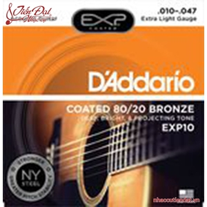 Dây đàn guitar Acoustic D'Addario EXP10