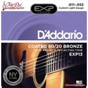 Dây đàn guitar Acoustic D'Addario EXP13