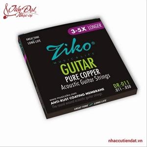 Dây đàn guitar Acoustic ZIKO DR-011