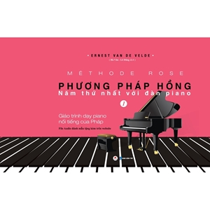 Giáo trình dạy Piano Phương pháp hồng tập 1