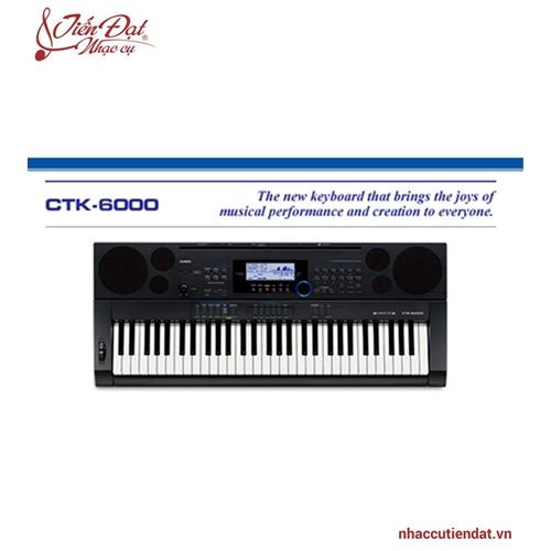 Đàn organ casio CTK6000